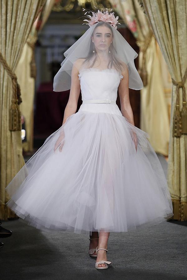 Vestido de novia de Nihil Obstat : Colección 2019 Atelier Couture : Tendencias de Bodas Magazine