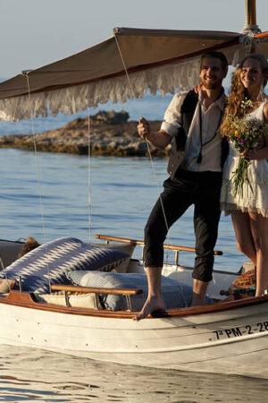 El sueño de organizar una boda en Ibiza.