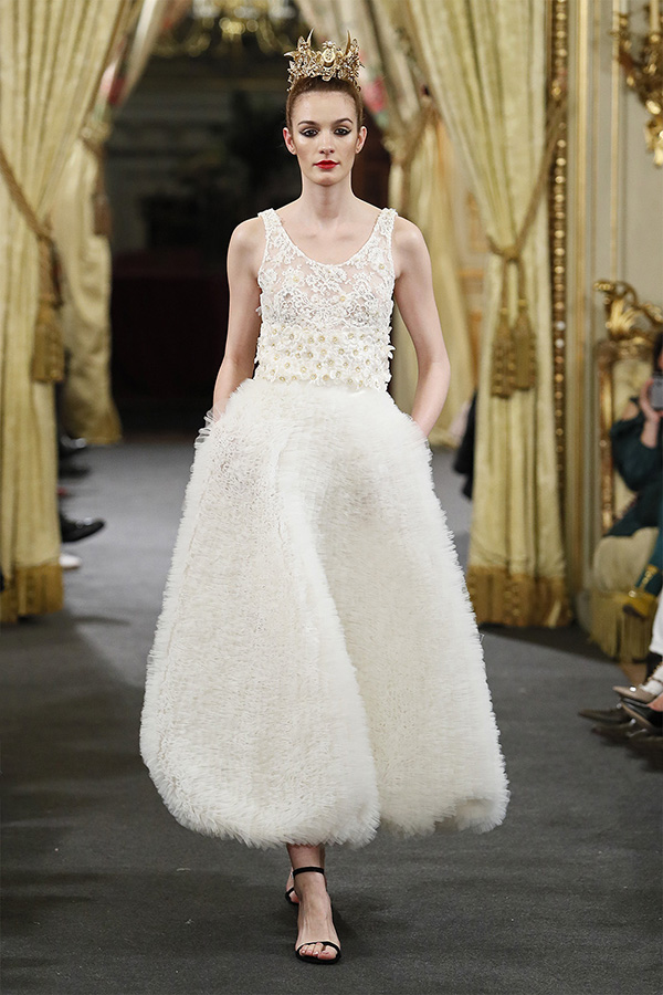 Vestido de novia de Franco Quintans : Colección 2019 Atelier Couture : Tendencias de Bodas Magazine