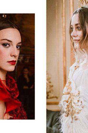 Los beauty looks para novias e invitadas de Oui Novias para Atelier Couture.