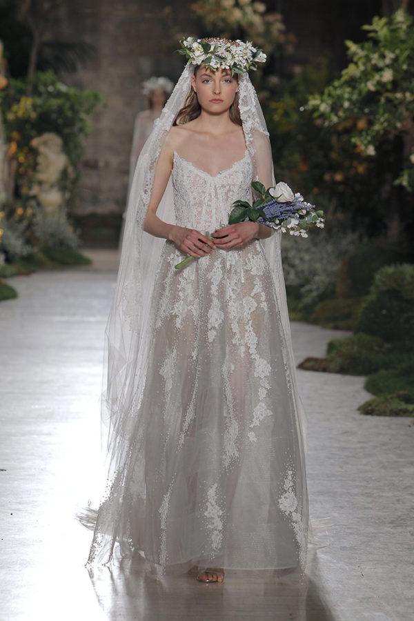 Reem Acra : Vestido de novia colección 2019 : Tendencias de Bodas Magazine