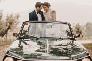 Inspiración para una boda romántica, elegante y con pasión en la Serra de Tramuntana.