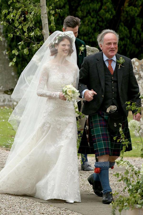 La boda de Rose Leslie y Kit Harington de Juego de Tronos