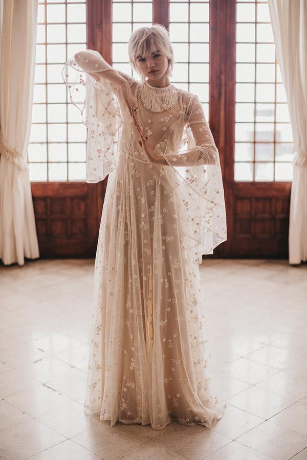 Imma Clé : Vestido de novia colección Senda 2019 : Tendencias de Bodas Magazine