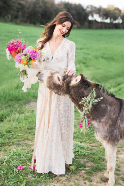 Wedding inspiration : Mediterranean boho bride