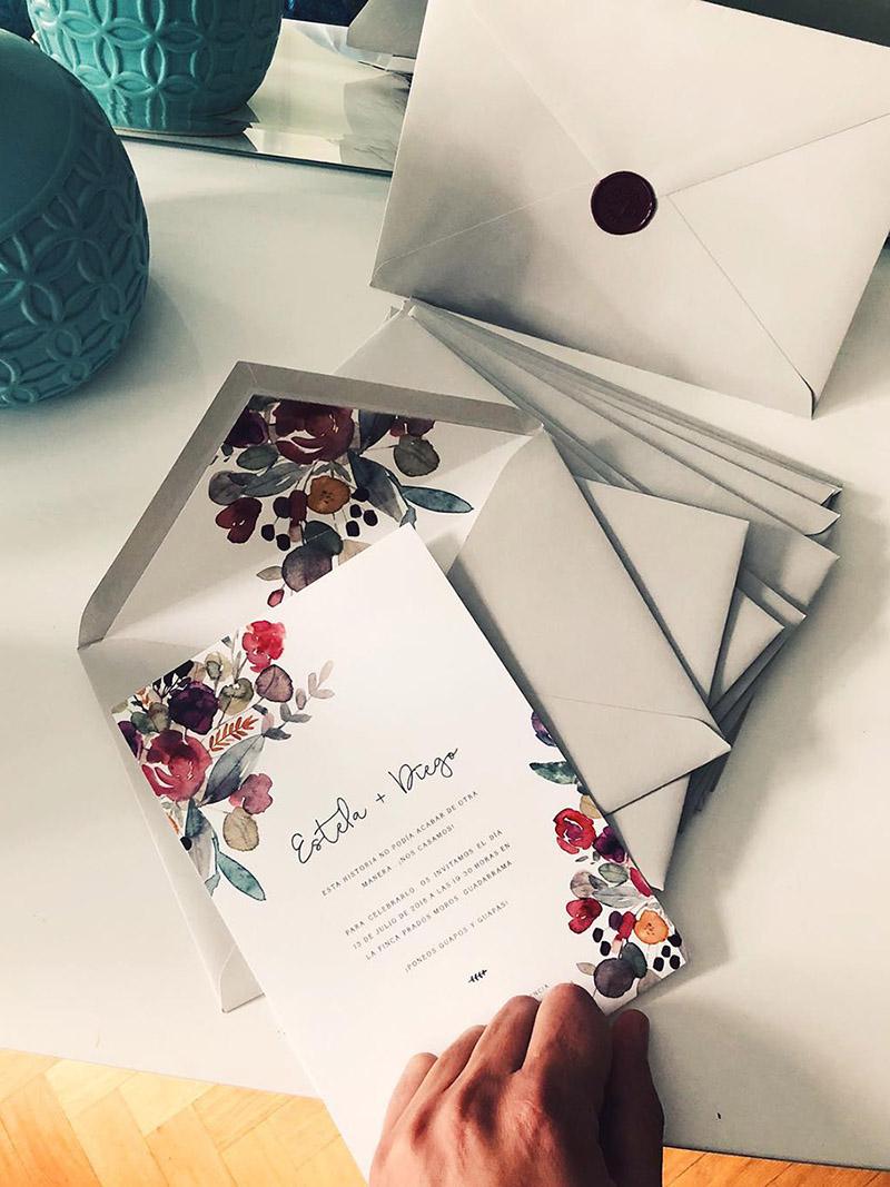 Invitaciones de boda personalizada de Project Party Studio