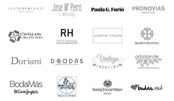 Empresas y marcas que han confiado en Tendencias de Bodas Magazine & Blog