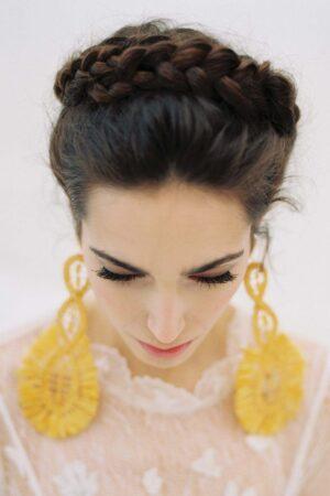 Los pendientes para novias que están de moda y que también usarás en tus looks diarios.