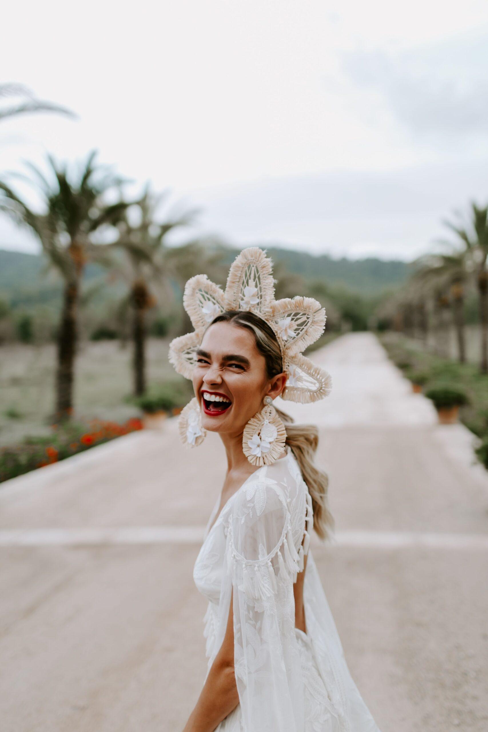 Los pendientes para novias que están de moda.