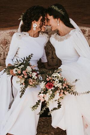 El amor puro y glamour clásico de la boda sevillana de 'Las Lauras' #loveislove