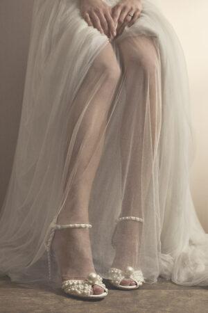 El glamour, lujo y elegancia de Jimmy Choo y sus colecciones de zapatos para novias.