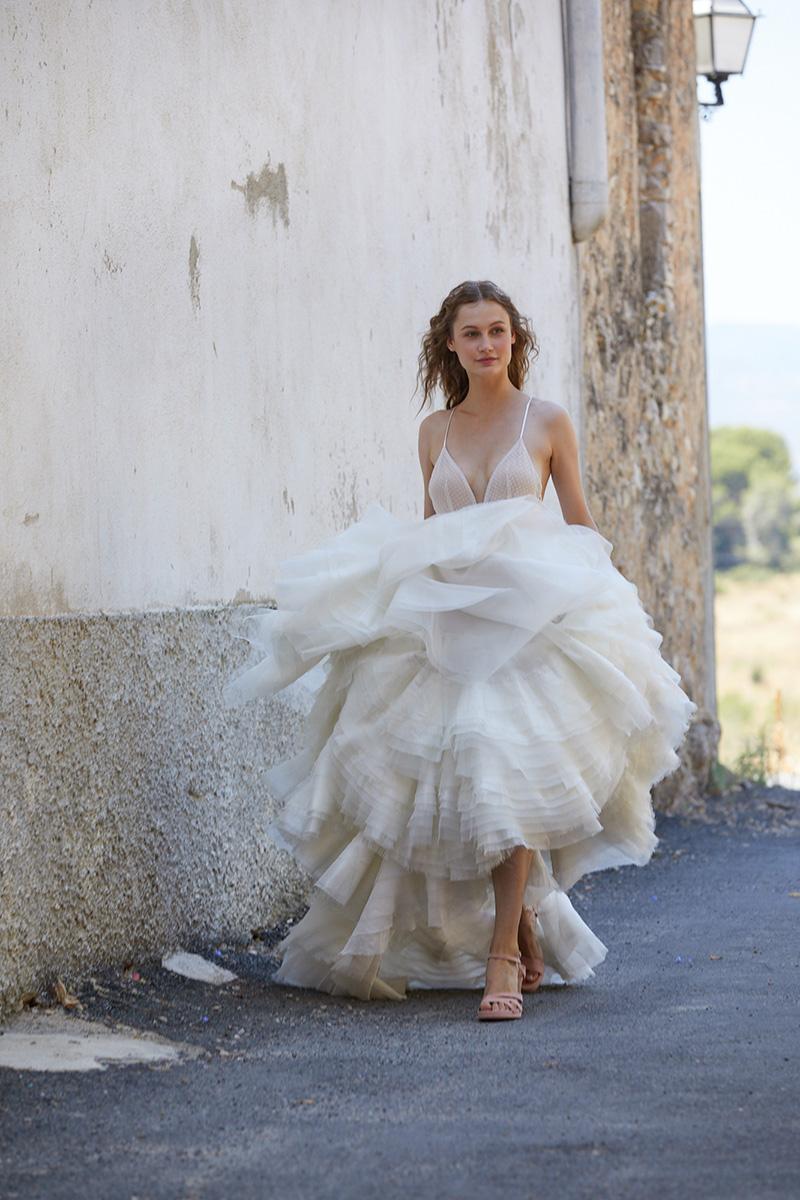 Vestido de novia de Ramón Herrerías.