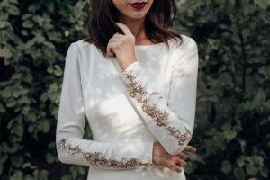 Victoria Imaz: vestidos de novia versátiles, atemporales, sencillos y detallistas.