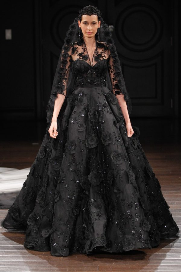Vestido de novia negro : Black wedding dress