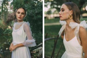 'Faith' de Maria Baraza, una colección de vestidos de novia repleta de musas y referencias románticas.