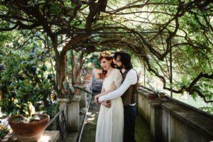 La boda vegana de Sara y Héctor en Roma.