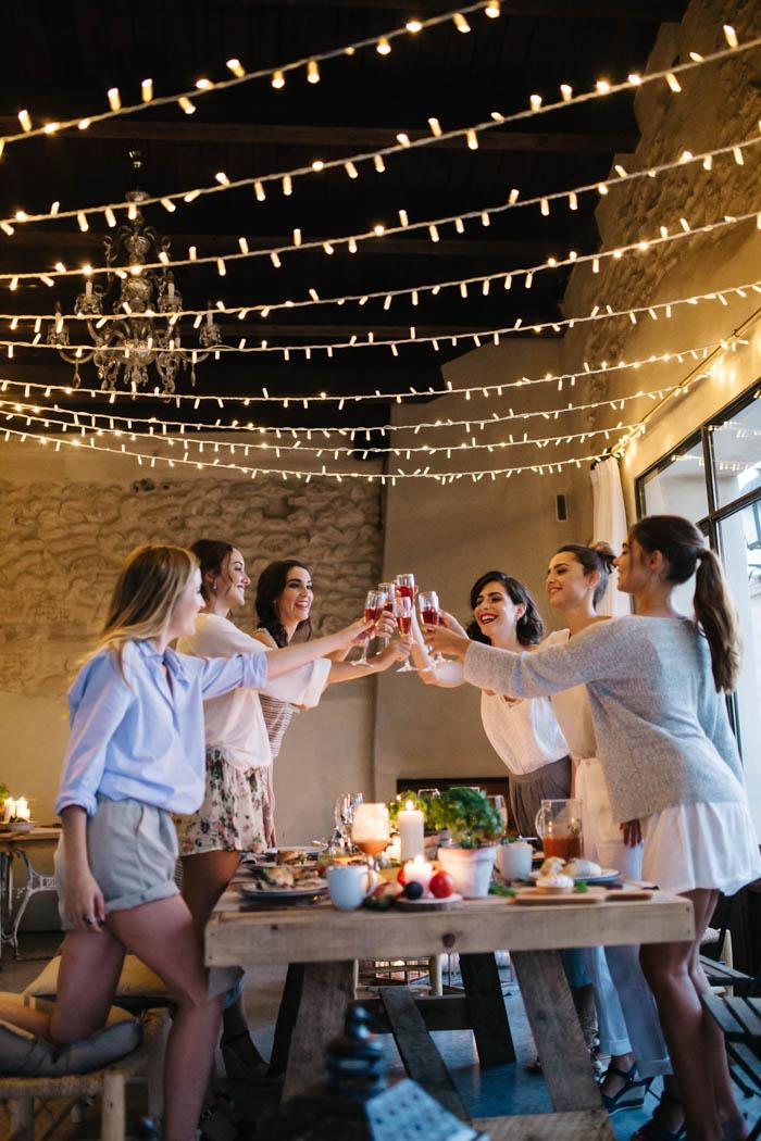 Ideas de regalos para novios : Una bridal party