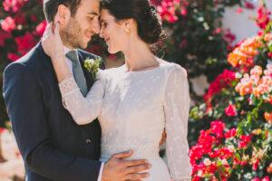 Irene y Thomas un amor que empieza de Erasmus en París y continúa con su boda en Valencia.