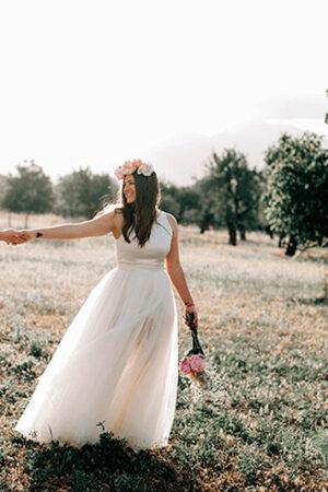 La boda al aire libre en Mallorca de Paula y Alex.