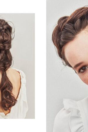 Millennial, glam y boheme: las tendencias de Oui Novias en maquillaje y peluquería para novias.