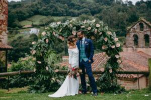 La slow wedding asturiana de Marta y Alberto en el Palacio del Marques de Casa Estrada.