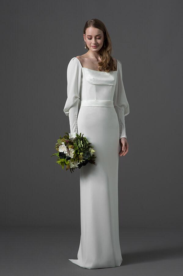 Vestido de novia de Escuer Atelier : Tendencias de Bodas Magazine