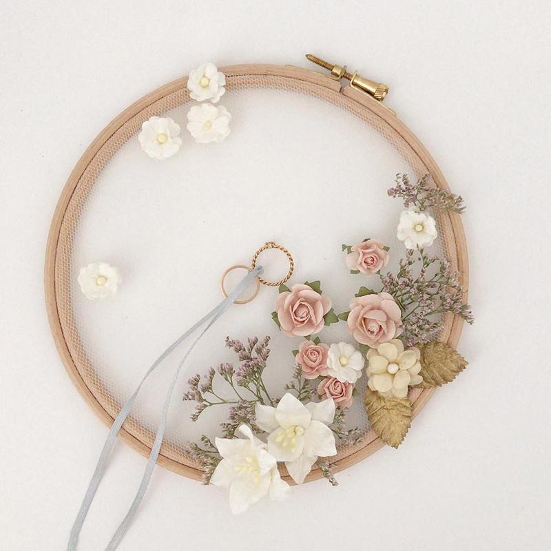 Ideas en color rosa para novias y bodas románticas.