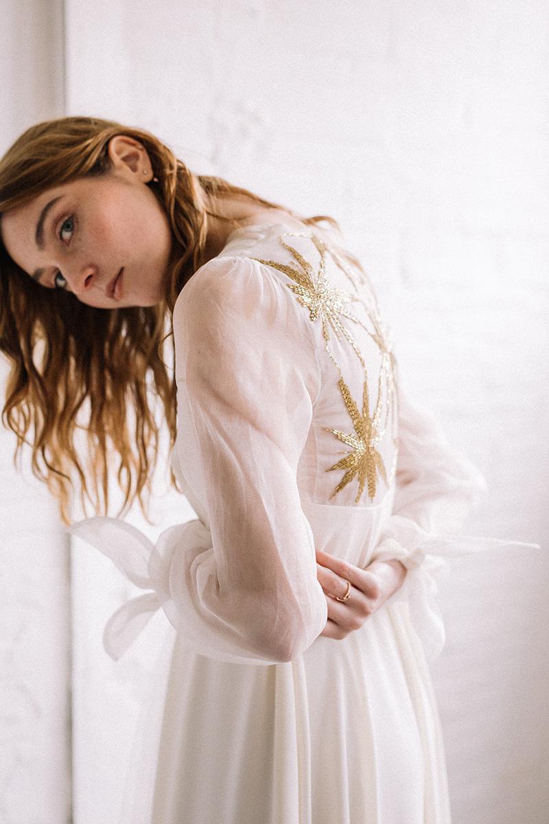 Vestido de novia de Juana Rique #editorialSara