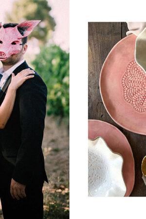 «Tu boda, tus reglas», el leitmotiv de la wedding planner Paris Berlín; la lista de boda de Amazon y la cerámica 'heart made' de Eva's Sand.