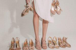 4 firmas de calzados para novias e invitadas slow.