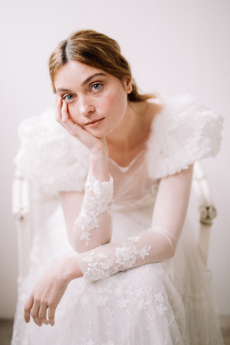 Vestido de novia flowy de Victoria Imaz