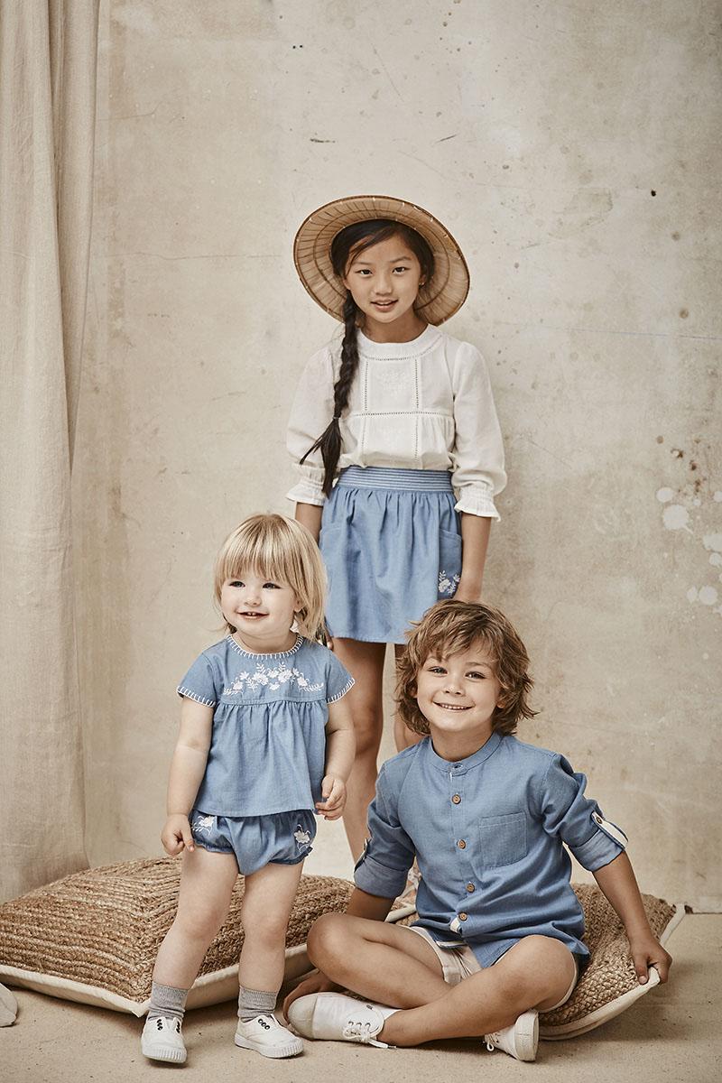 Trajes de arra y ropa para niños
