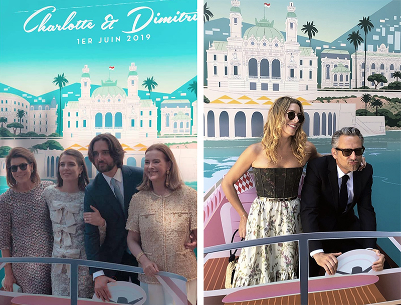 La boda Pinterest de Carlota Casiraghi y Dimitri Rassam.