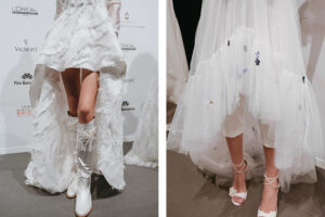 Las tendencias en zapatos para novias vistos en la pasarela de la #VBBFW19