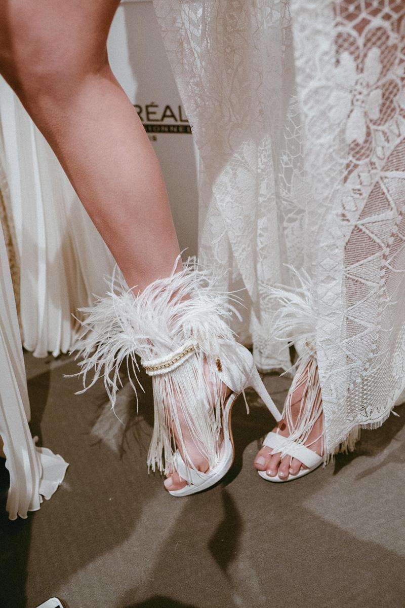 Zapatos de novia de YolanCris by Ana Marttin.
