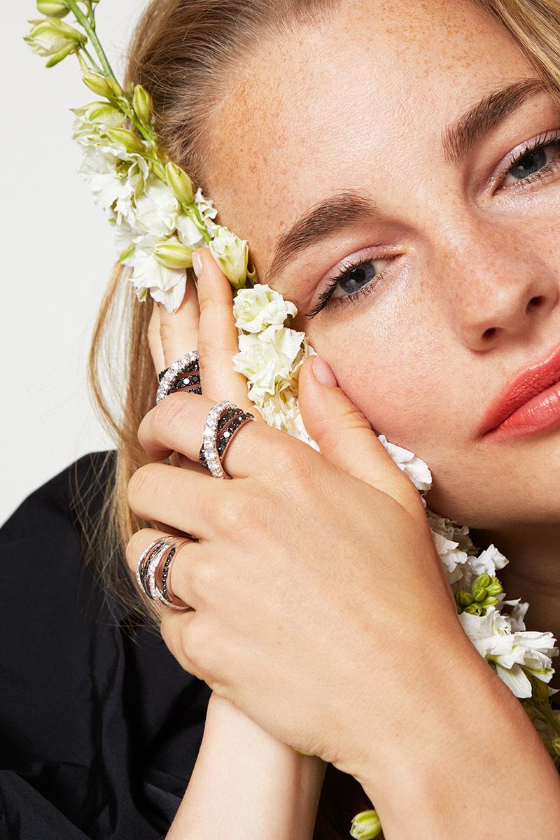 Las joyas perfectas para una novia boho-chic.