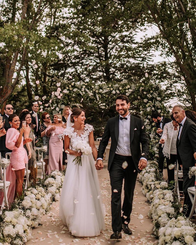 Boda de Alexandra Pereira y Ghassan Fallaha.