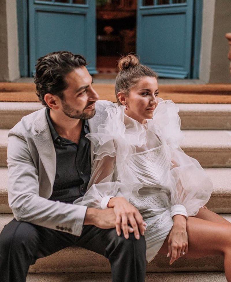 Fiesta preboda de Alexandra Pereira y Ghassan Fallaha