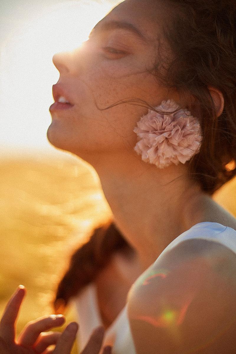 Inspiración para una novia bucólica mediterránea.
