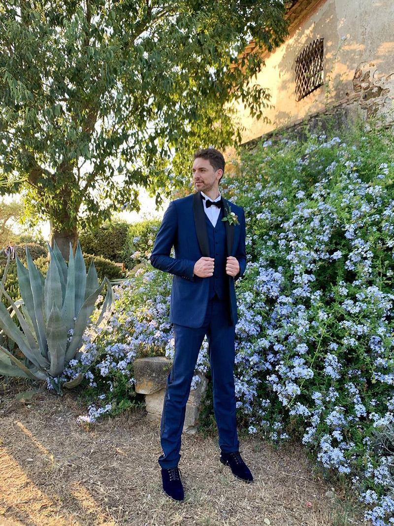 La boda de Pau Gasol y Cat McDonnell en España.