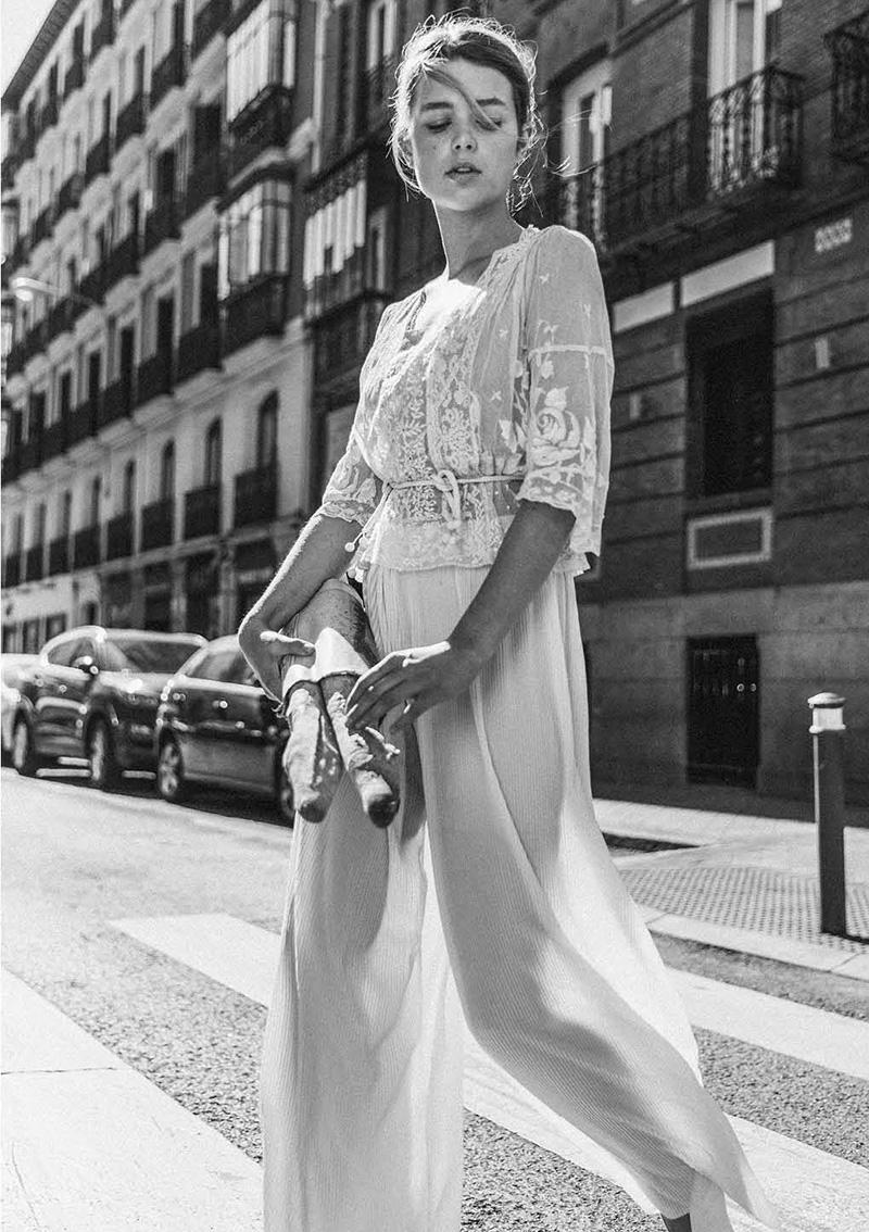 Vestido de novia de Claudia Llagostera