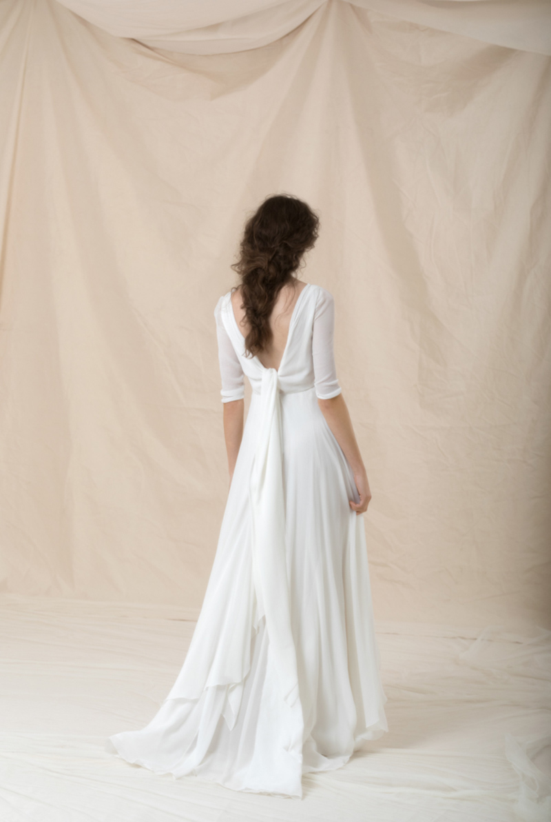 Vestido de novia de Cortana