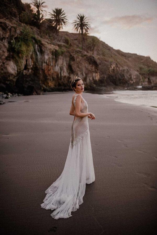 Tocados y pendientes para novias e invitadas de Martina Dorta