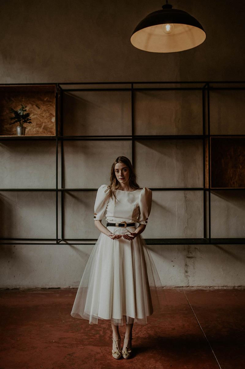 Inspiración boda industrial y romántica.