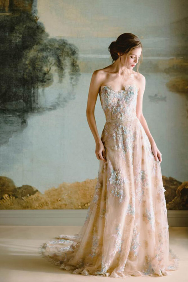 Vestidos de novia rosado – Pink wedding dress
