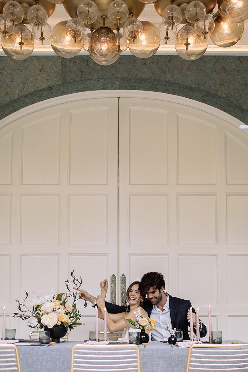 Celebrar la boda en un restaurante