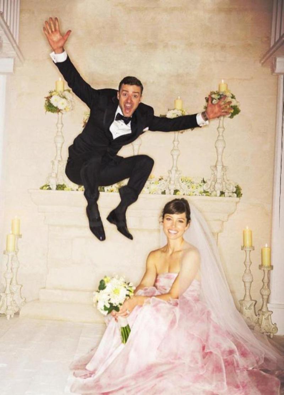 La boda de Jessica Biel y Justin Timberlake