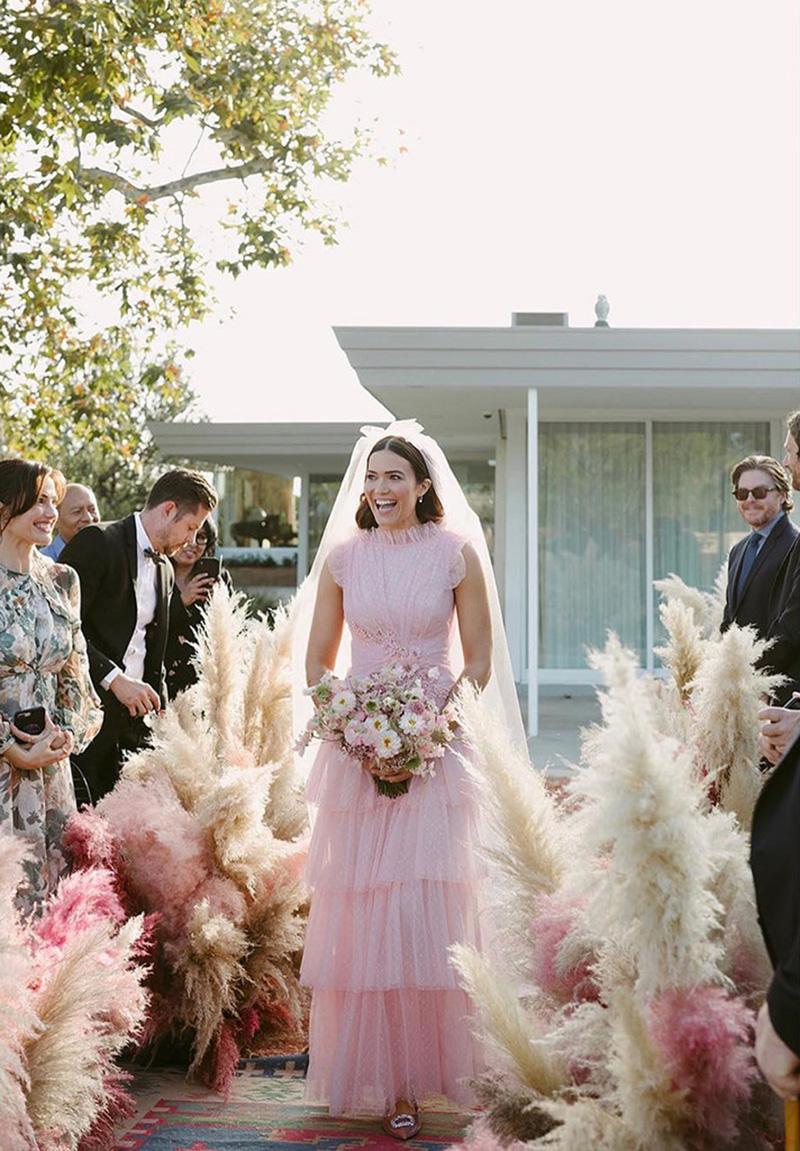La boda de Mandy Moore.