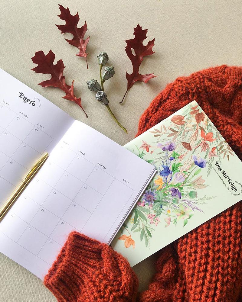 Agendas, calendarios y planificadores semanales bonitos.