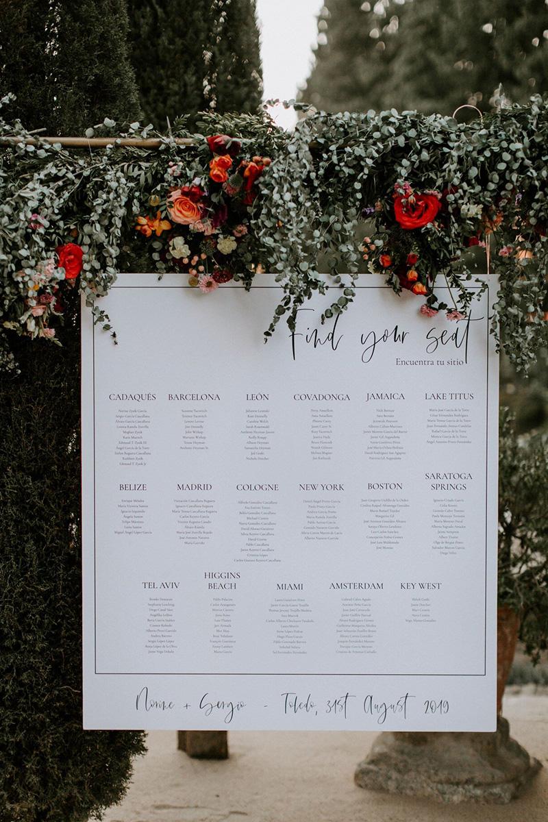 Destination wedding in Toledo, Spain.